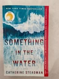 Livro em inglês Something in the water