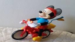 Brinquedo bicicleta magica Mickey Mouse interativo original Disney