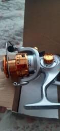 Molinete pesca novo nunca usado!!