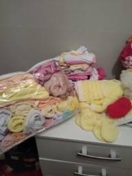 Título do anúncio: Roupas bebê maioria peças novas e algumas pouco usadas em ótimo estado