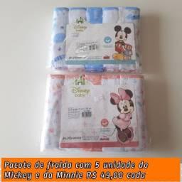 Fralda de pano bordada a partir de R$ 38,00