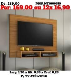 Liquída em Londrina - Painel de Tv até 49 PLG - Novo na caixa
