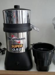 Extrator espremedor de suco de laranja profissional motor 0,5cv  (novo) Alecs