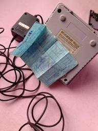 Super Nintendo com nota fiscal 1 controle e dois jogos