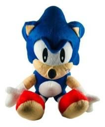 Boneco Pelúcia Sonic Game 40cm - Produto Nóvo
