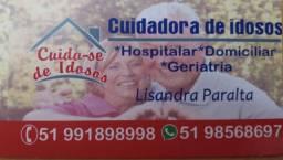 Cuido de idosos em meu domicio