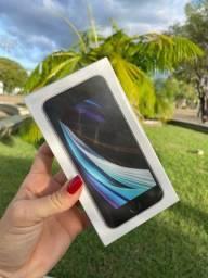 Título do anúncio: IPhone SE 2020 branco 64gb(lacrado)