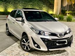 Título do anúncio: Toyota Yaris 1.5 XLS 2019 top com teto solar na garantia