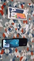 Samsung A 01 semi novo