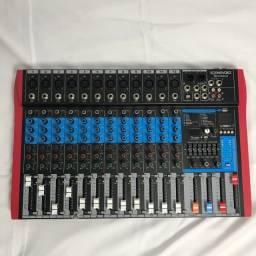 Mesa de Áudio - 12 Canais - SoundVoice