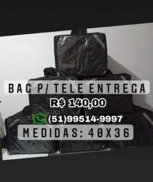 Bag tele entrega, 40x36 padrão ifood/ Uber eats /