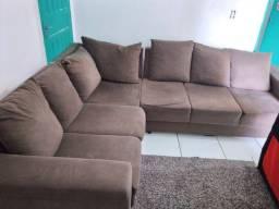 Sofá usado semi novo