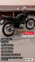 Título do anúncio: Moto em excelente estado