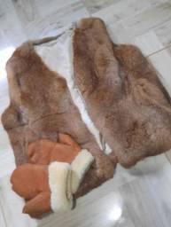 Casaco pele animal