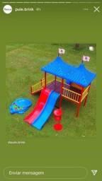 Lançamento Playground com Escorregadores