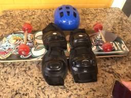Skate 4 rodas novinho nunca usado