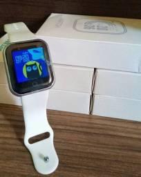 Smartwatch y68/D20 com watch faces / Relógio inteligente smartwatch