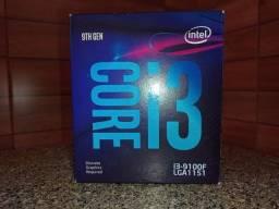 Título do anúncio: processador i3 9100f