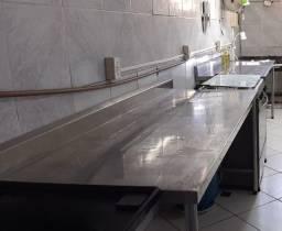 Título do anúncio: Bancada Cozinha Industrial - Aço Inox