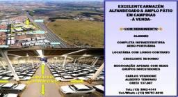 Título do anúncio: Excelente Armazém & Amplo Pátio À Venda - Com Rendimento - Região de Campinas,SP