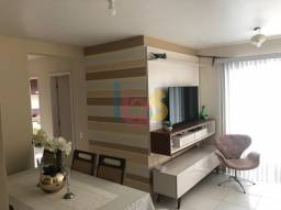Apartamento de 3/4 em condomínio Praias do Atlântico