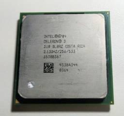 Processadores vários modelos Pc antigo