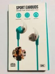 Fone Esportivo de ouvido / fone de ouvido esportivo