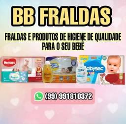 Fraldas e produtos de higiene infantil
