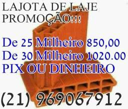 Título do anúncio: lajota de laje de 25 e 30 em Promoção!!!!!