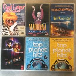 Dvds originais de flash Back para colecionadores