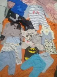 Vendo lote de roupa de minino ou troco por roupa de minino rn