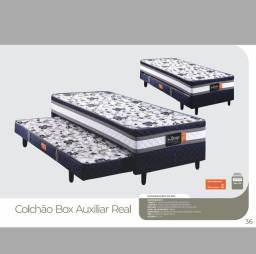 Título do anúncio: CAMA BOX SOLTEIRO COM AUXILIAR