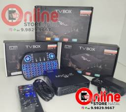 Tv box + teclado 64GB de memoria