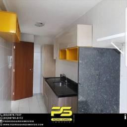 Apartamento com 3 dormitórios para alugar, 90 m² por R$ 1.700/mês - Bairro dos Estados - J