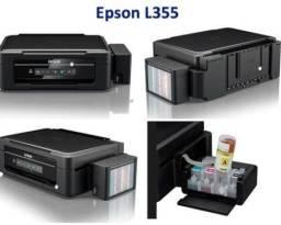 Instalaçao de ecotank da impressora epson xp
