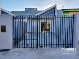 Casa com 2 dormitórios à venda, 55 m² por R$ 175.000 - Parque Residencial Bela Vista - Sar