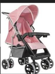 Carrinho de bebe burigoto cor rosa