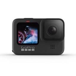 Câmera GoPro Hero 9 Black 5k com cartão 64gb (nova, lacrada)