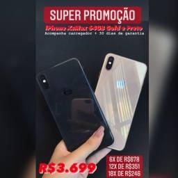 XSMAX 64GB GOLD/PRETO COM GARANTIA E CARREGADOR