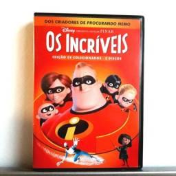 DVD Duplo Os Incríveis + dvd British Rock + dvd 3 Patetas