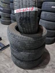 Pneu 265 60 18 Bridgestone zap *