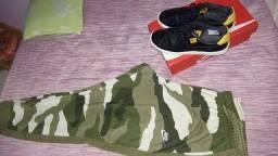 Vendo calça da Nike e tênis da Nike