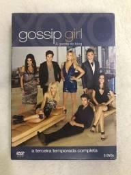 Dvd gossip girl 3 temporada