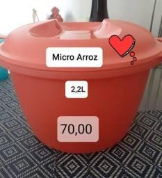 Panela Arroz Tupperware microondas