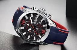Relógio Masculino Casual Esportivo (Novo na caixa)