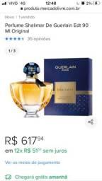Título do anúncio: Perfume Shalimar com pouco uso