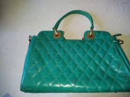 Bolsa verde-água