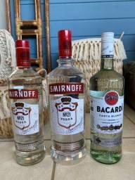 Kit Vodka + Bacardi