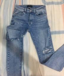 Calça jeans forever 21 tamanho 38