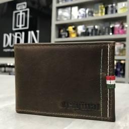 Porta Cartões Original em Couro 100% Legítimo - Entregamos!!!